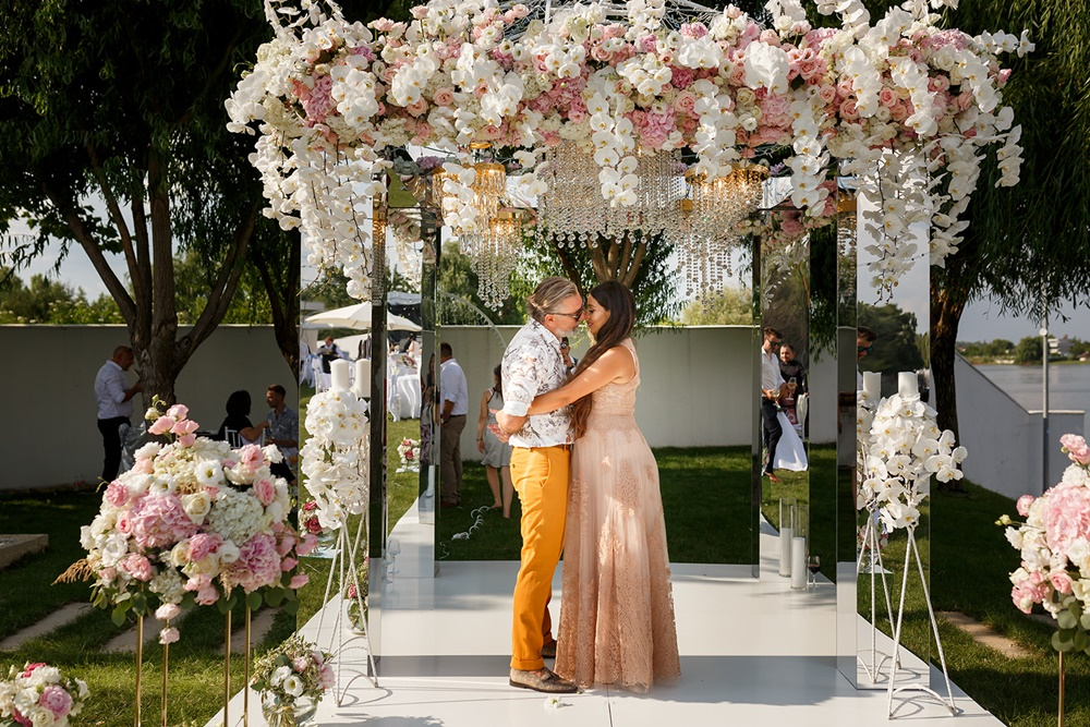 Nunta ca in povesti organizata in doua saptamani