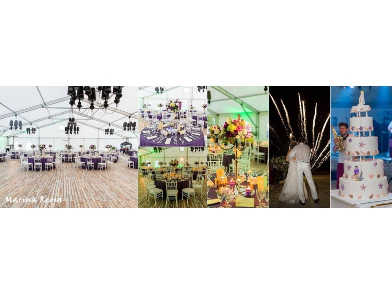 Tipuri de aranjamente florale care poarta semnatura Events by Carmen Ionita